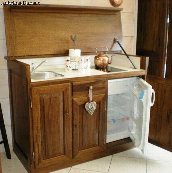 Cucina monoblocco antichit daziano for Cucina monoblocco