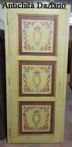 Porta dipinta a mano