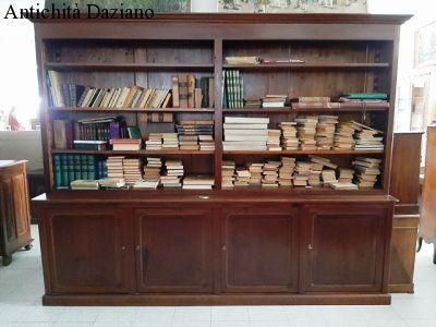 Libreria in larice