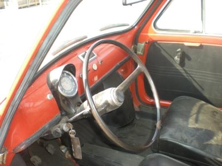 Auto – Autobianchi 500 Giardiniera 120 Dettaglio interno