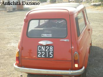 Auto – Autobianchi 500 Giardiniera 120