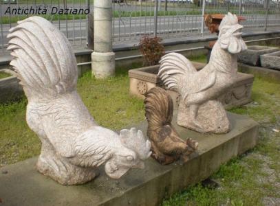 Galli in pietra serena