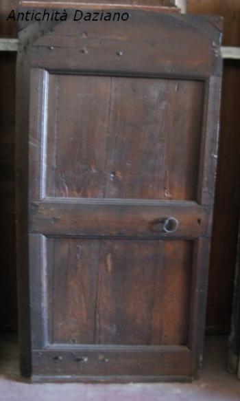 Porta rustica in abete