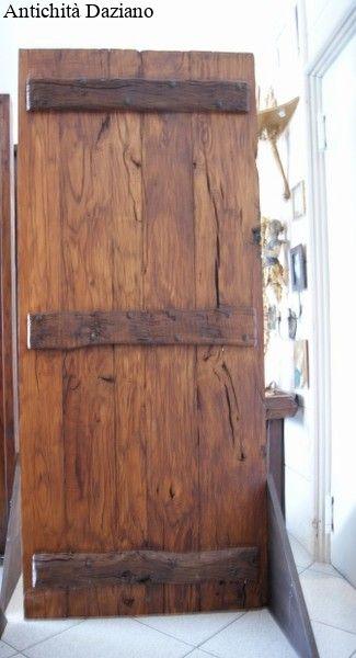 Porta rustica - Retro