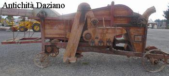 Trebbia in legno - Dettaglio