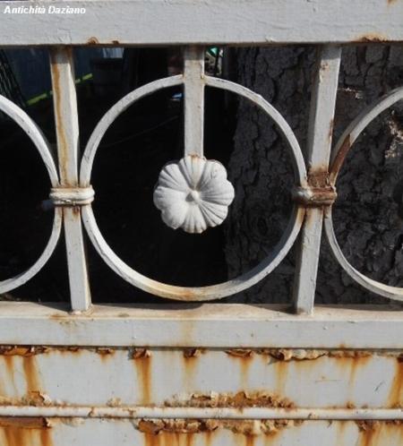Cancello in ferro - Dettaglio