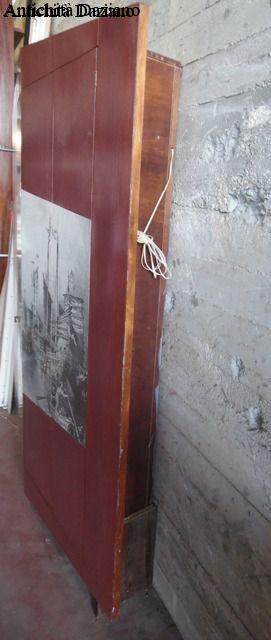 Armadio a muro - Dettaglio laterale