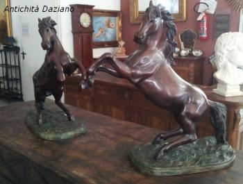 Cavalli in bronzo