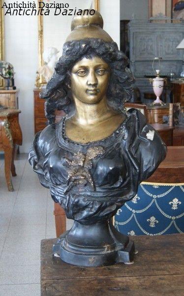 Mezzo busto in bronzo