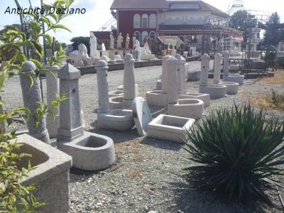 Fontane in marmo e granito