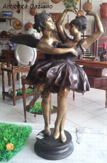 Ballerine in bronzo