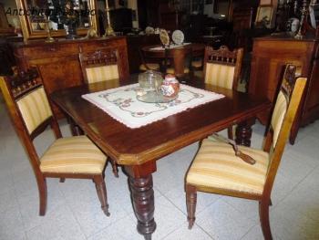 Tavolo in rovere inglese