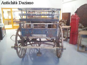 Calesse quattro ruote - Vista posteriore