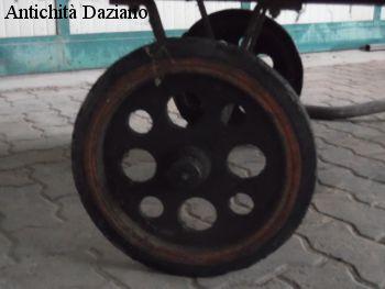 Carrello da fabbrica - Dettaglio ruota