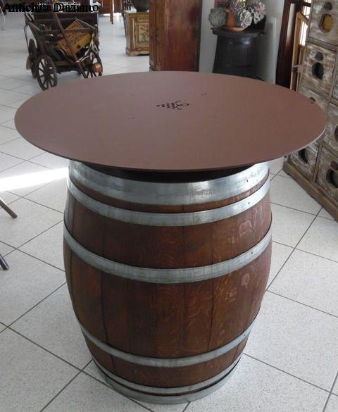 tavolo a botte antichit daziano