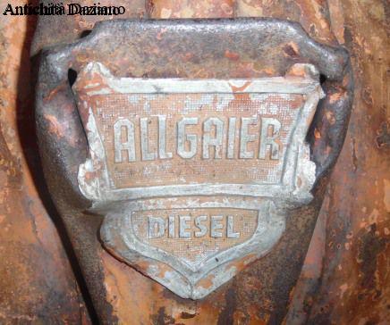 Trattore - Porche Allgaier