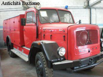 Autocarro - DEUTZ pompieri
