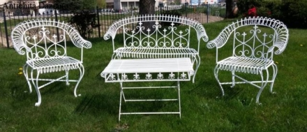 Set da giardino in ferro