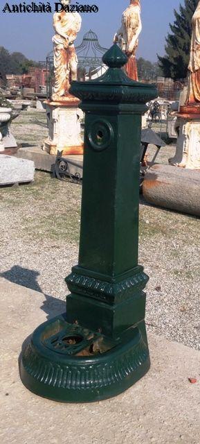 Fontana in ghisa Antica Milano