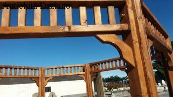 Gazebo ottagonale in legno