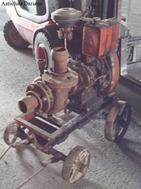 Motore LOMBARDINI  con pompa