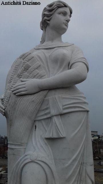 Statue quattro stragioni in marmo