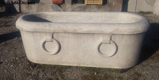 Vasca Da Bagno Marmo : Vasca da bagno in marmo antichità daziano