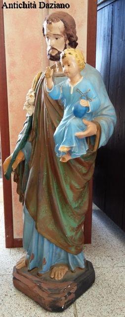 Statua  Giuseppe con Gesù bambino