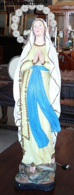 Statua Vergine Maria con corona luminosa