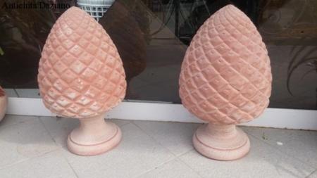 Pigne in terracotta