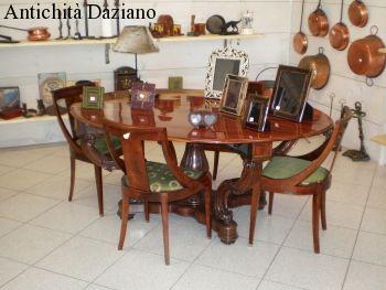 Tavolo a cestello