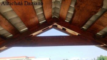 Gazebo in legno massello