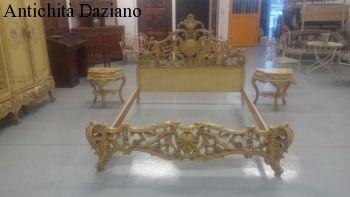 Letto stile Barocco veneziano