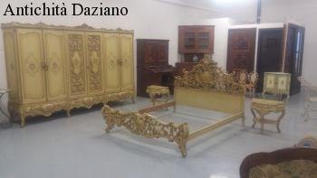 Letto stile Barocco veneziano | Antichità Daziano