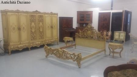 Camera Matrimoniale Barocco Veneziano.Armadio In Stile Barocco Veneziano Antichita Daziano