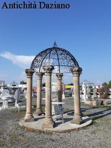 Gazebo colonne pietra serena