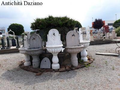 Fontane in marmo granito e pietra