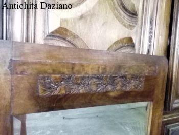 Piccola Credenza Da Restaurare : Toeletta con specchio liberty antichità daziano