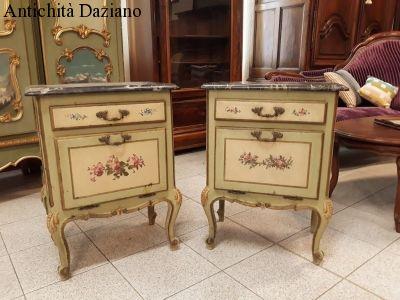 Coppia comodini barocco veneziano