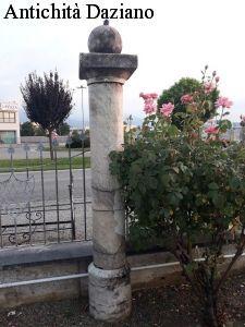 Colonna in pietra