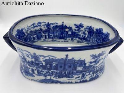 Caspò cachepot portapiante in ceramica stile Inglese