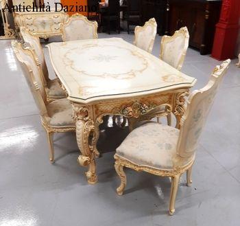 Tavolo Barocco Veneziano