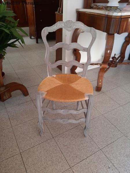 Tavolo e 4 sedie provenzale