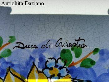 Tavolo in pietra lavica Duca di Camastra