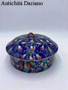 Biscottiera in ceramica primi del 900