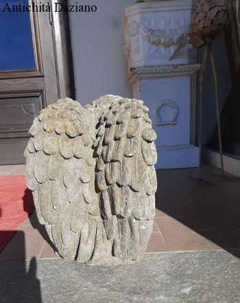 Angioletto ornamentale stile Liberty