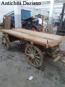 Carro in legno