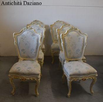 Sedie Barocco Veneziano
