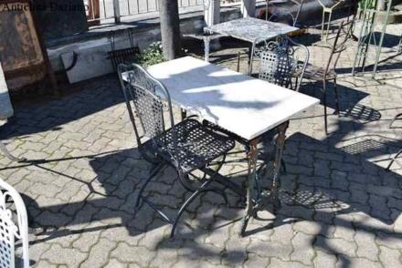 Tavolo piano in marmo
