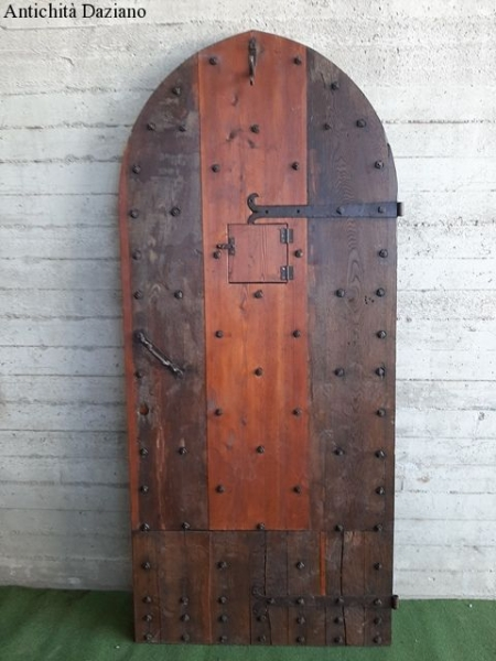 Porta in rovere rustica